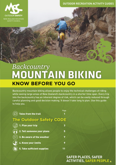 MSC Backcountry Mountain Biking Guide Cover for web