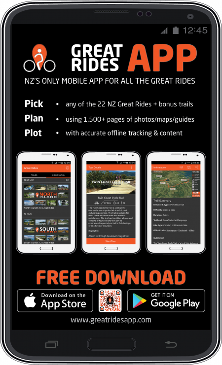 Great Rides App main screenshot