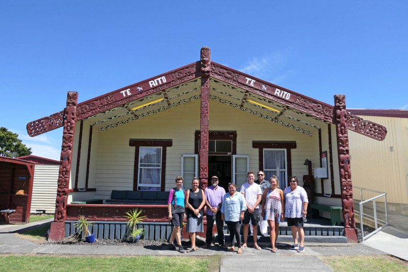 Twin Coast Cycle Trail Te Rito marae image 3 credit bennettandslater.co.nz
