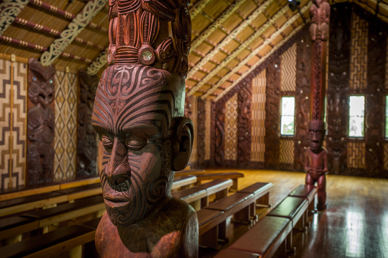 Waitangi Treaty Grounds Meeting House credit David Kirkland